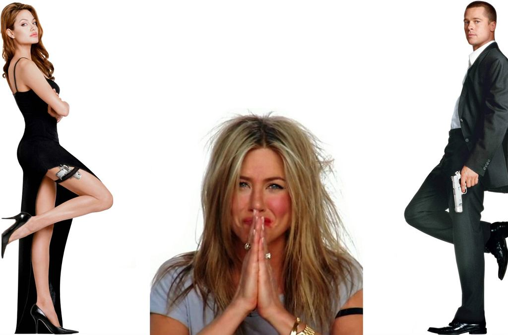 Angelina Jolie, Brad Pitt, Jennifer Aniston