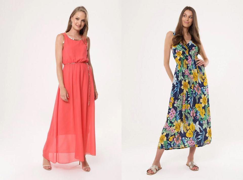 Sukienki w wersji maxi do 80 złotych