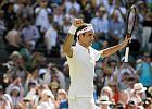 350. zwycięstwo Rogera Federera w turniejach wielkoszlemowych! Awans gwiazd tenisa
