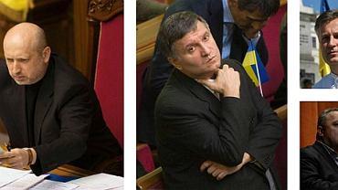 Porewolucyjna Ukraina ma nowych dygnitarzy
