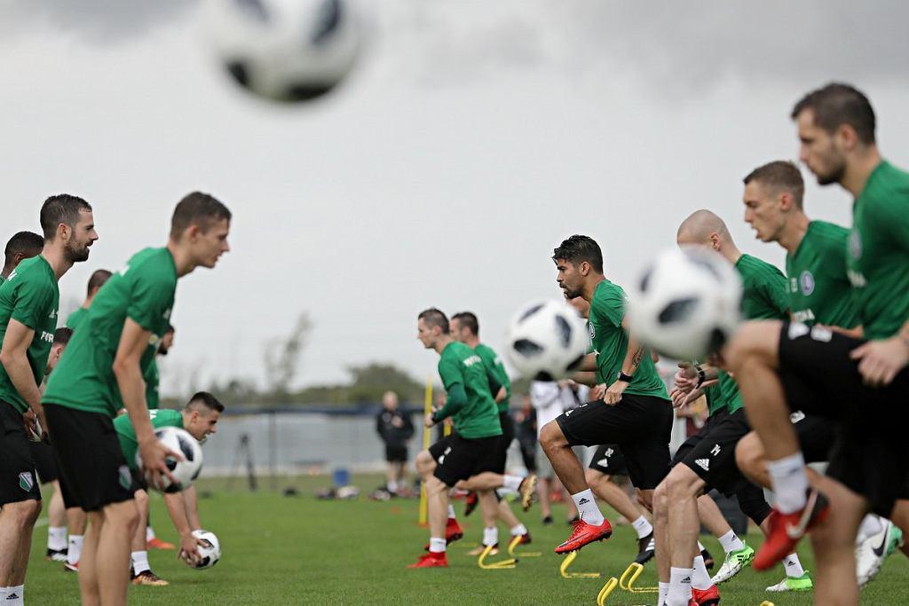 Legia trenuje na Florydzie.