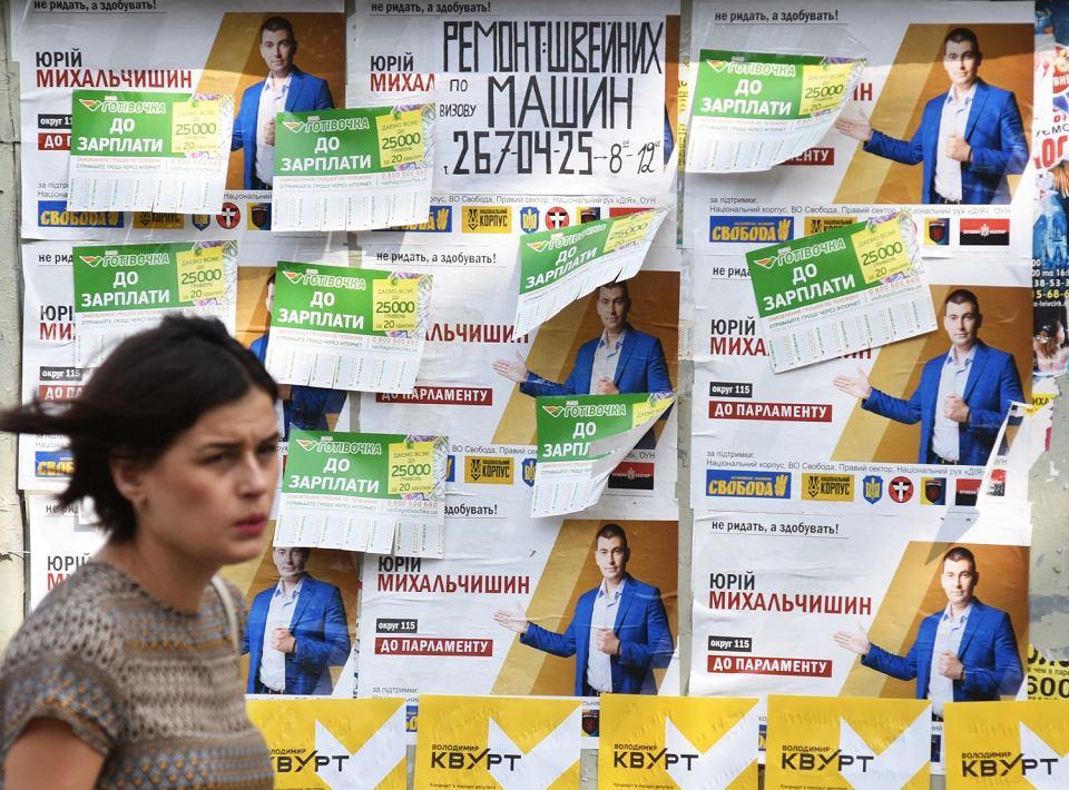 Kampania wyborcza na Ukrainie przed wyborami parlamentarnymi, Kijów, 2 lipca 2019
