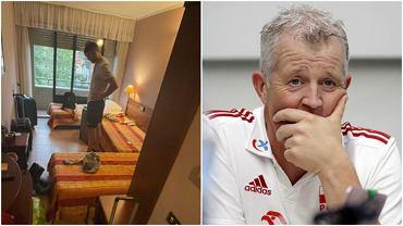 Vital Heynen miał być wśród trenerów składających protest wobec fatalnych warunków noclegowych w hotelu w Rimini podczas siatkarskiej Ligi Narodów