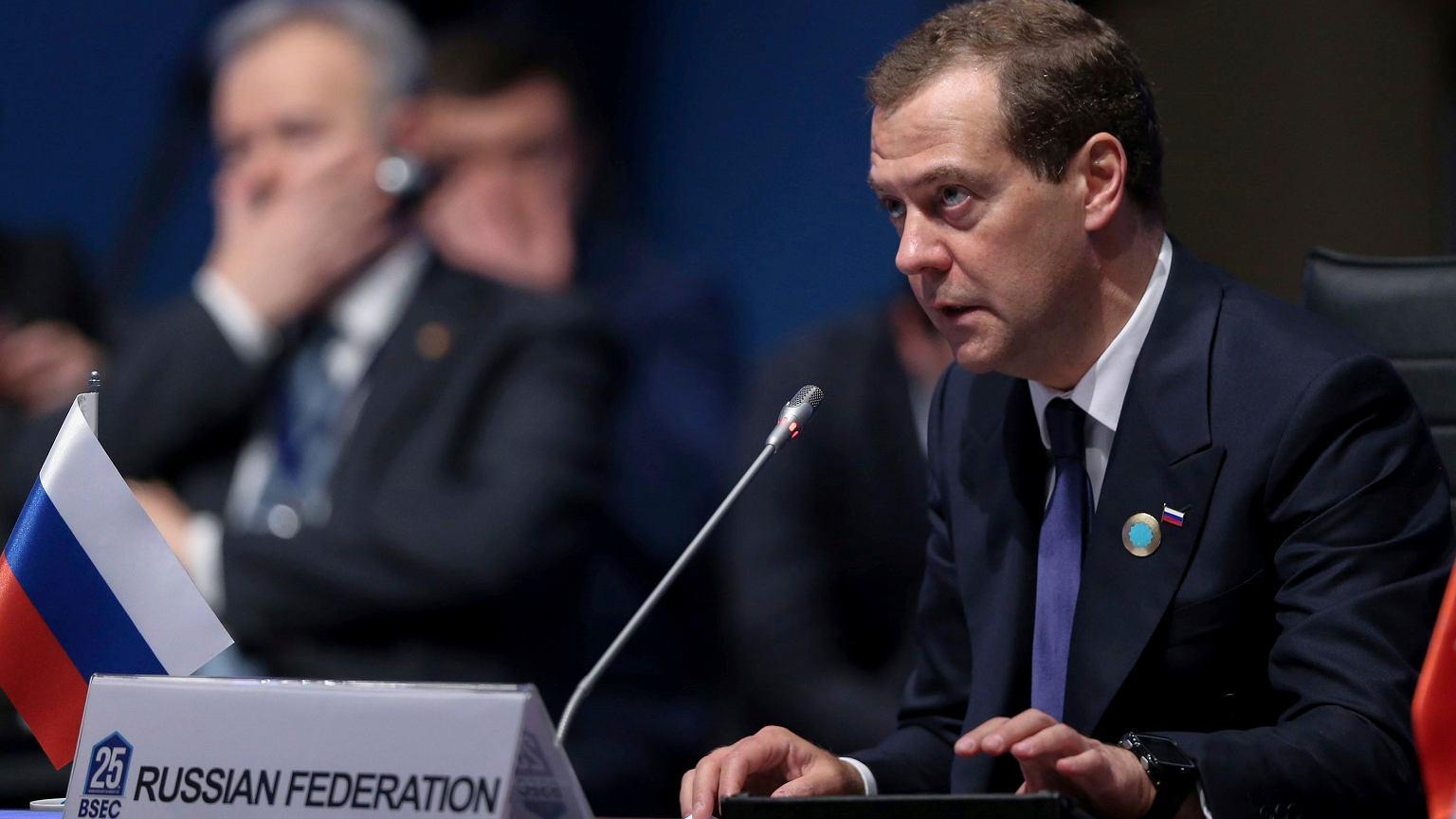 """Premier Rosji komentuje decyzję WADA: """"To kontynuacja antyrosyjskiej histerii"""""""