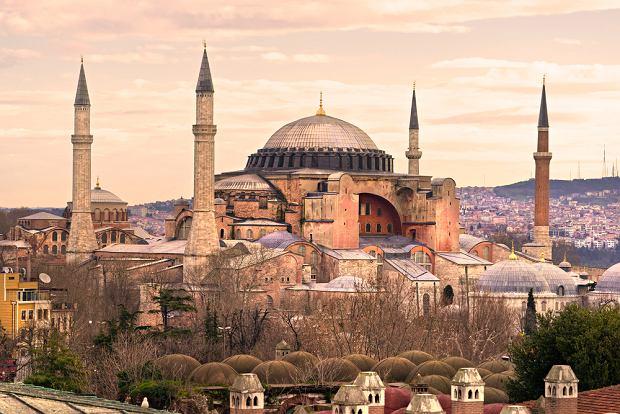 Turcja. Stambuł - Hagia Sophia