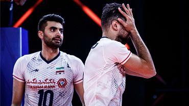 Siatkarze Iranu podczas meczu Ligi Narodów przegranego 0:3 z Japonią