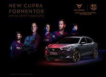 Messi i spółka przesiadają się do nowego auta. Formentor oficjalnym samochodem Barcelony