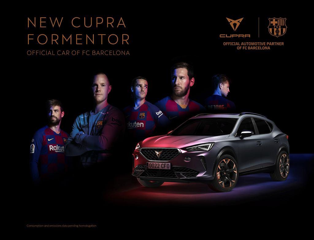 Cupra Formentor FC Barcelona