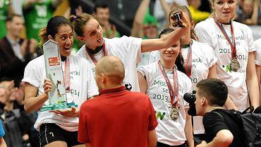 Tak Makare Wilson i Joanna Kaczor cieszyły się ze srebrnego medalu