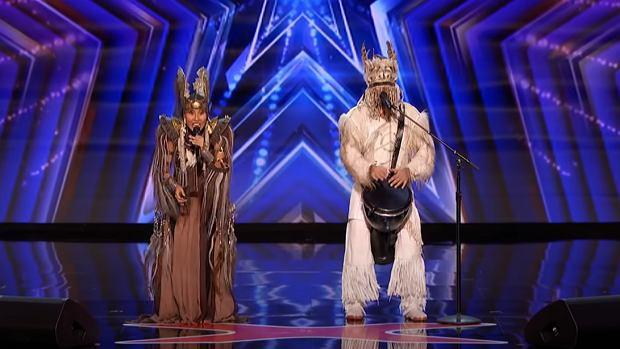 Olox Combines Throat Singing and 'Zombie' by The Cranberries! - America's Got Talent 2020