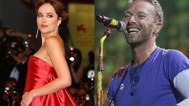 Dakota Johnson z '50 twarzy Greya' i Chris Martin z Coldplay będą mieli razem dziecko?