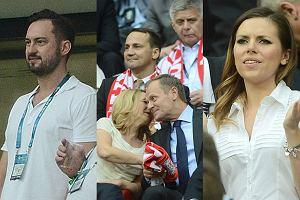 Marcin Prokop. Donald Tusk, Małgorzata Tusk, Ola Kwaśniewska, Aleksandra Kwaśniewska
