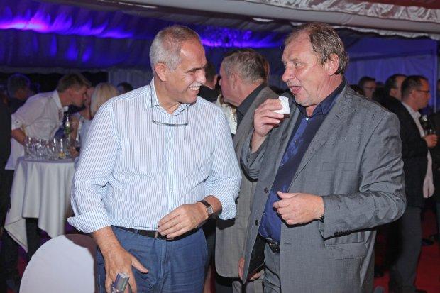 Zygmunt Solorz-Żak i Andrzej Grabowski