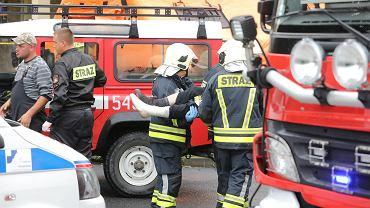 Burza w Tatrach, śmiertelne porażenie piorunem na Giewoncie. Służby ratownicze w akcji