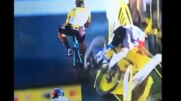 Fatalna kraksa na finiszu I etapu TdP 20