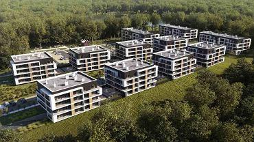 Wizualizacja inwestycji Dębowy Park Siemianowice