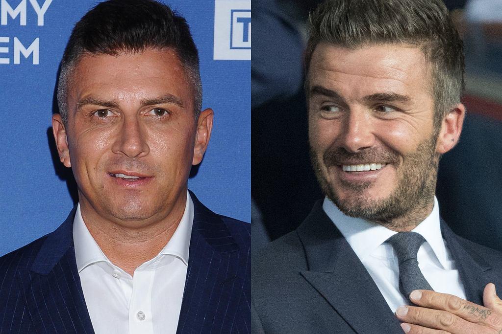 Mateusz Borek, David Beckham