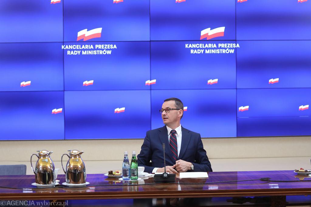 Spotkanie w sprawie Białorusi w KPRM