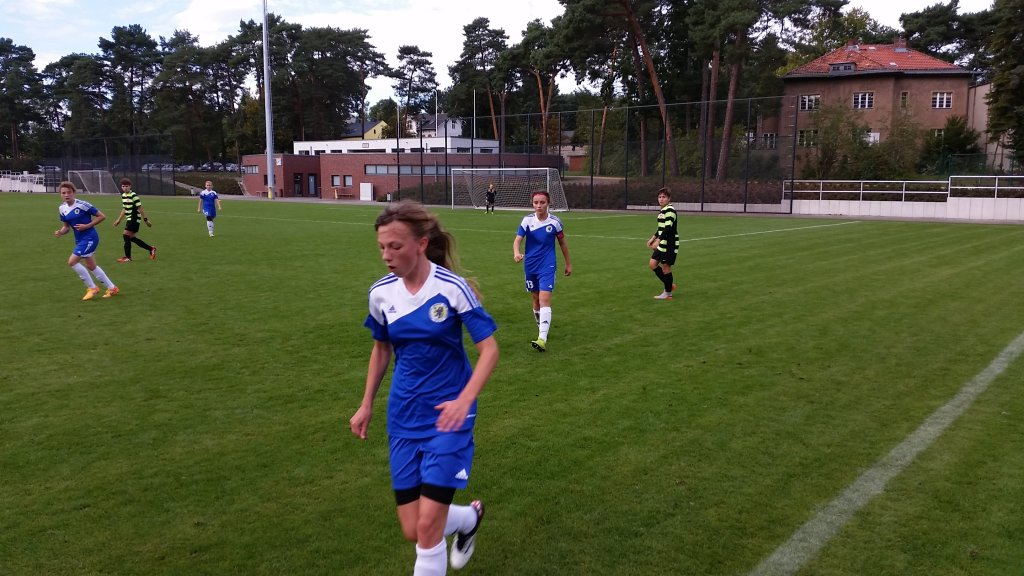 Piłkarki z Pomorza grały w Berlinie