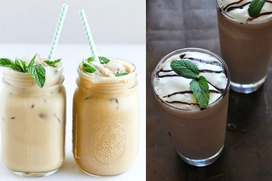 Mrożona kawa miętowa / Pinterest