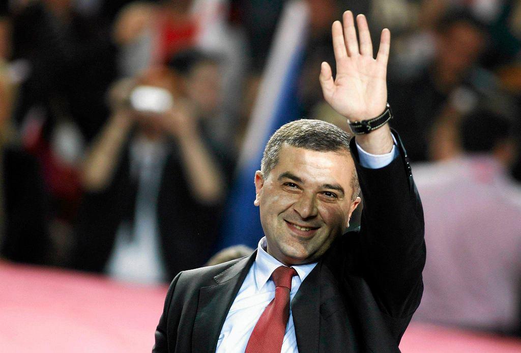 Dawid Bakradze, jeden z dwóch najpoważniejszych kandydatów na prezydenta Gruzji
