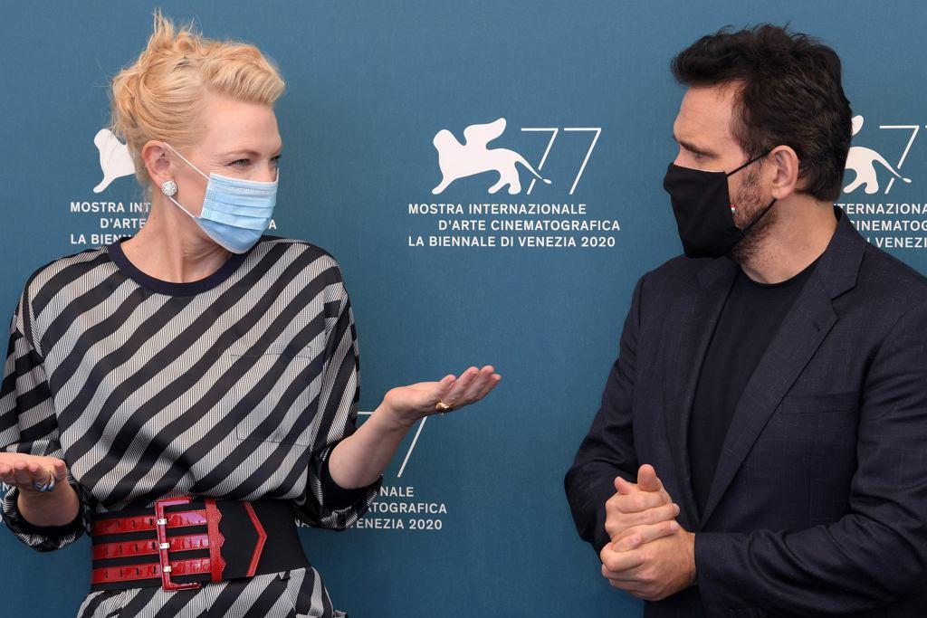 Cate Blanchett i Matt Dillon podczas 77. Festiwalu Filmowego w Wenecji