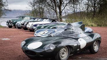 Przygotowania Jaguara do Mille Miglia