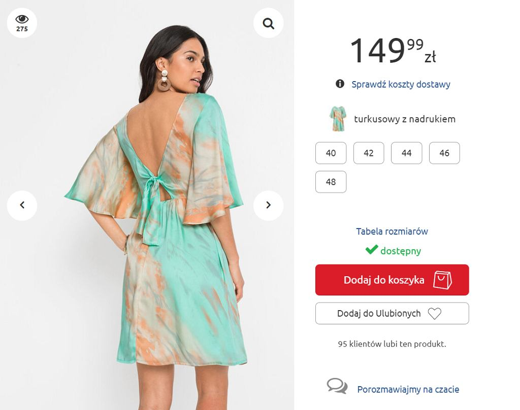 Sukienka Bonprix