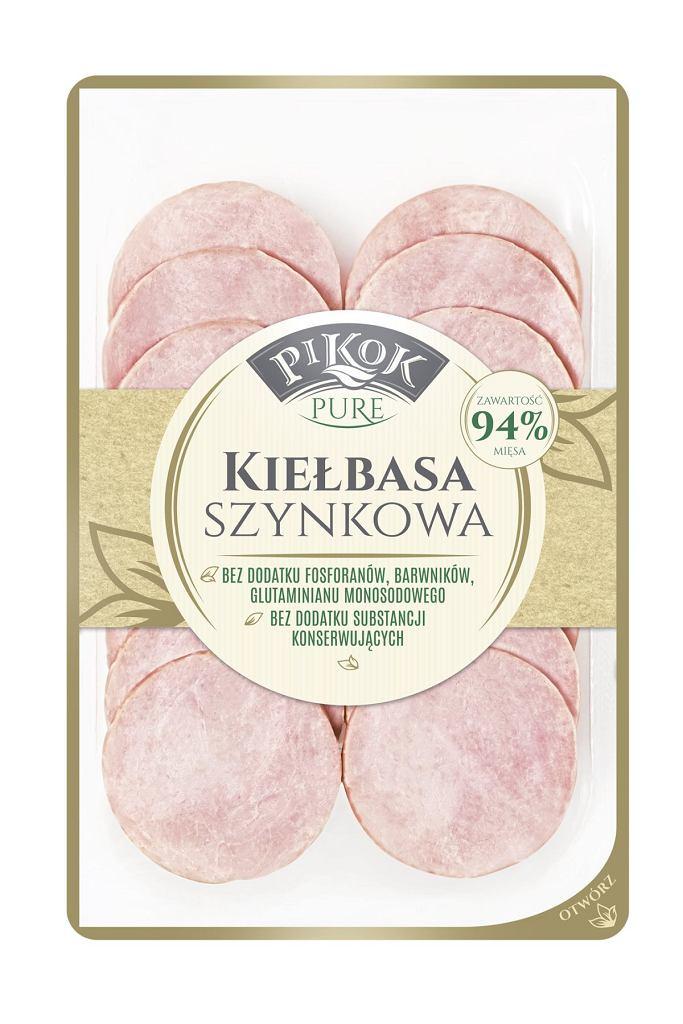 PIKOK Pure - Kiełbasa szynkowa plastry