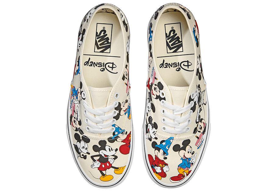Flagowym produktem kolekcji Vans x Mickey Mouse jest model Authentic