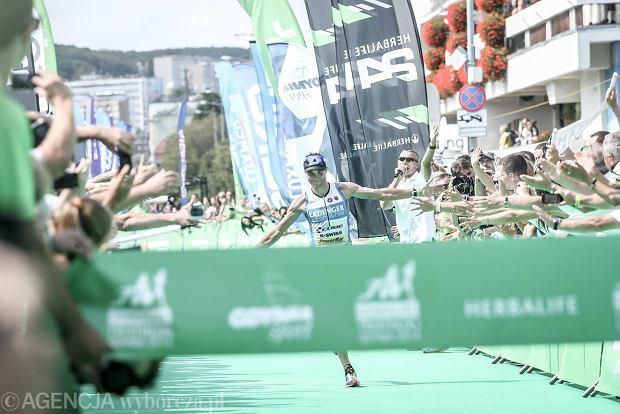 10.08.2014 Gdynia . Herbalife Triathlon Gdynia . Fot. Dominik Sadowski / Agencja Gazeta