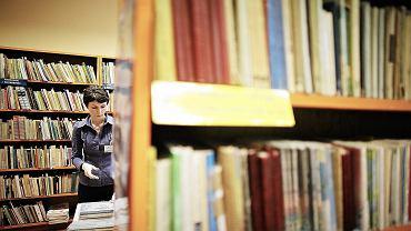 Biblioteka szkolna (fot. Tomasz Stańczak / Agencja Gazeta)