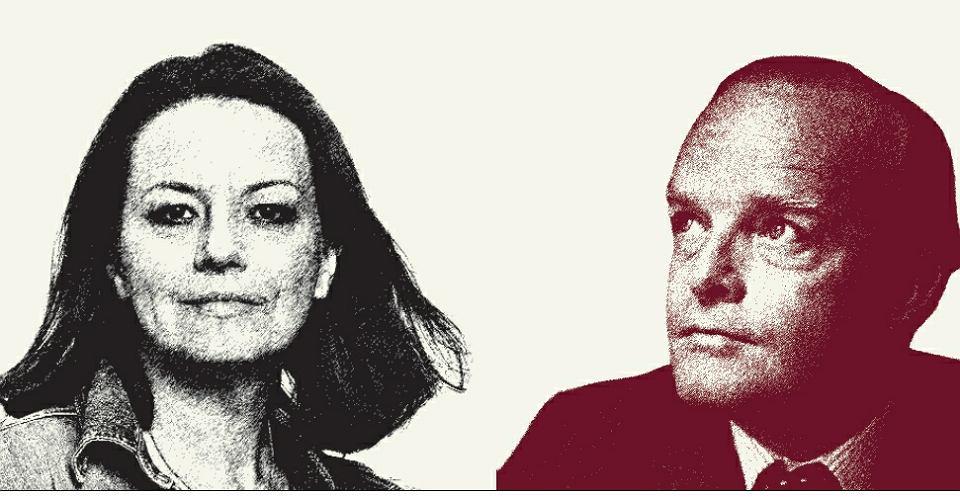 Katarzyna Surmiak-Domańska i Truman Capote