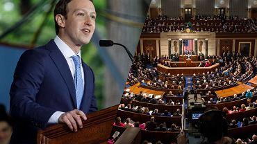 Mark Zuckerberg będzie zeznawał przed amerykańskim Kongresem