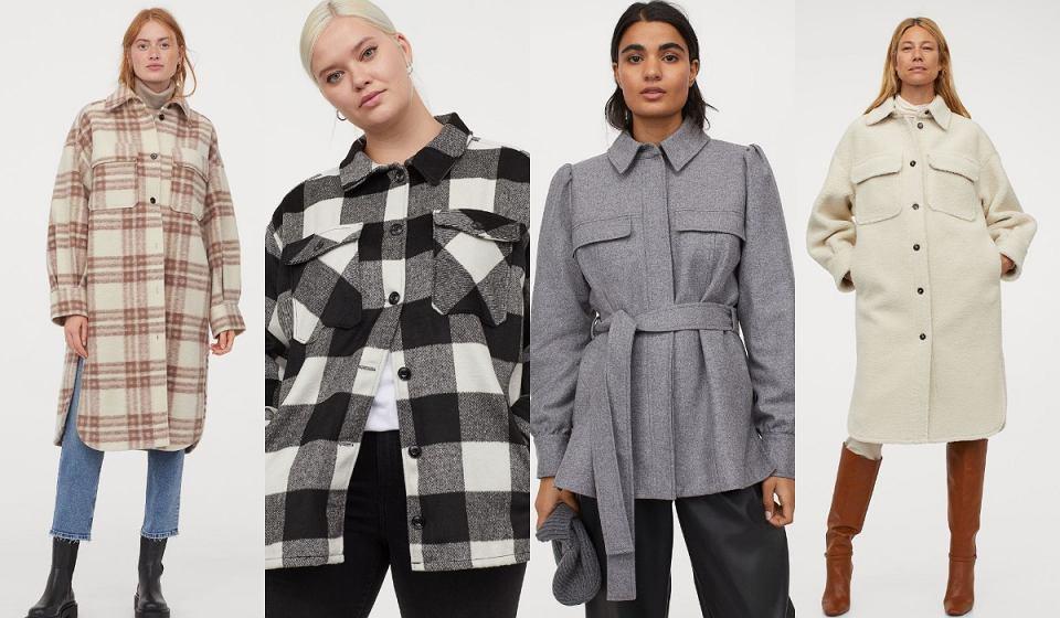 H&M kurtki koszulowe