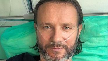 Radosław Majdan zakaził się koronawirusem. Zamieścił pierwszy wpis ze szpitala