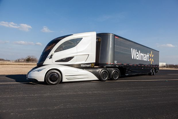 Walmart Advanced Vehicle Experience concept truck