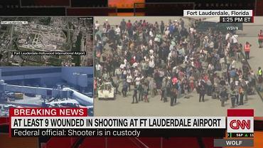 Strzelanina na lotnisku na Florydzie