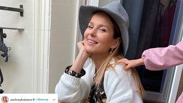 Paulina Sykut-Jeżyna nowa fryzura. Fanka: 'Tęsknię za pani długimi, ciemnymi włosami'