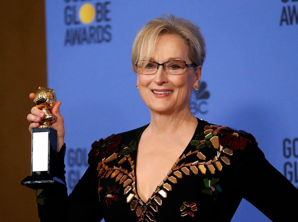 Meryl Streep na 74. gali rozdania Złotych Globów