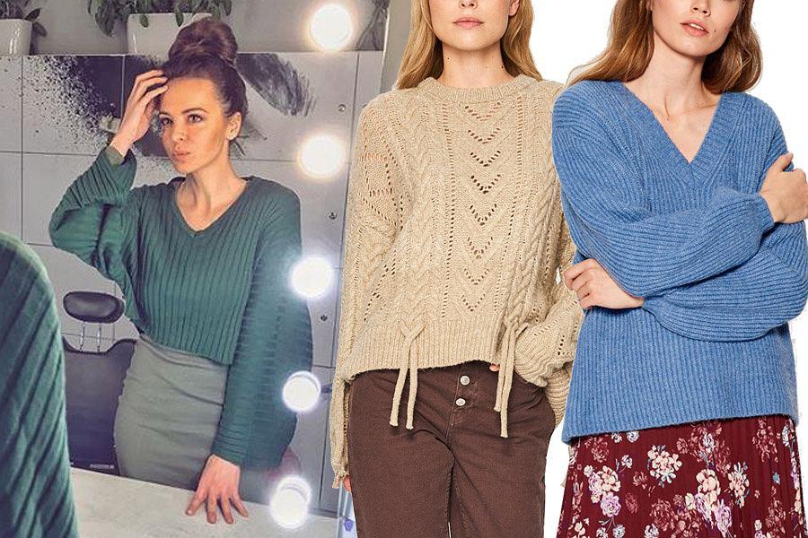 swetry damskie w klasycznych kolorach / mat. partnera