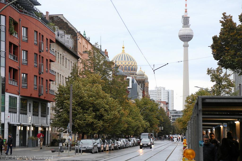Niemcy. Berlin, dzielnica Mitte.