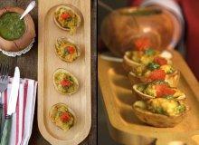 Łódeczki ziemniaczane z dorszem i salsa verde - ugotuj