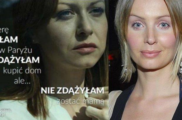 Agnieszka Szulim komentuje kampanię Fundacji Mama i Tata