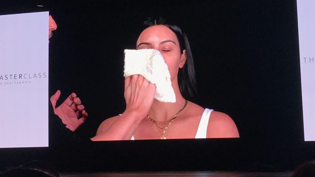 Szkolenie makijażowe The MasterClass w Dubaju, które poprowadził duet najbardziej rozpoznawalnych rewolucjonistów świata beauty - Kim Kardashian West i makijażysta Mario Devidanovic