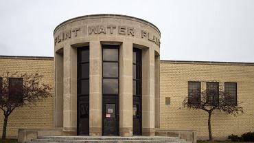 Stacja wodna w miejscowości Flint USA