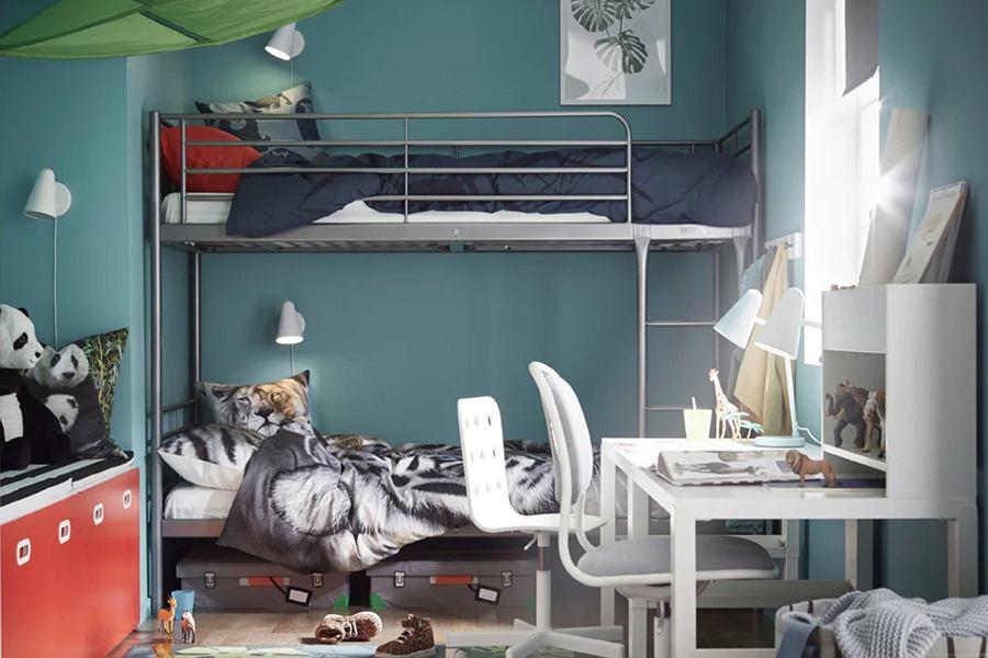 Łóżko piętrowe dla dzieci IKEA - STARVA