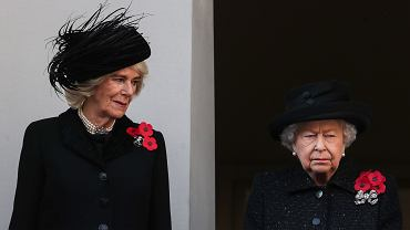 Księżna Camilla Parker Bowles i królowa Elżbieta II