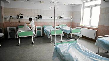 Szpitalne łóżka