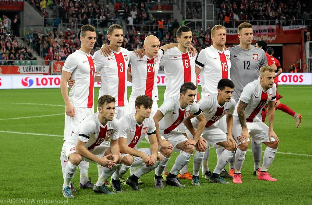 Listopadowy sparing Polska - Czechy we Wrocławiu